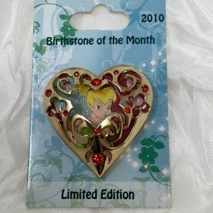 2010 Disney Birthstone of the Month Tinkerbell pin